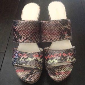 Nine West platform sandals